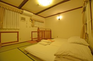 メゾネット2階寝室